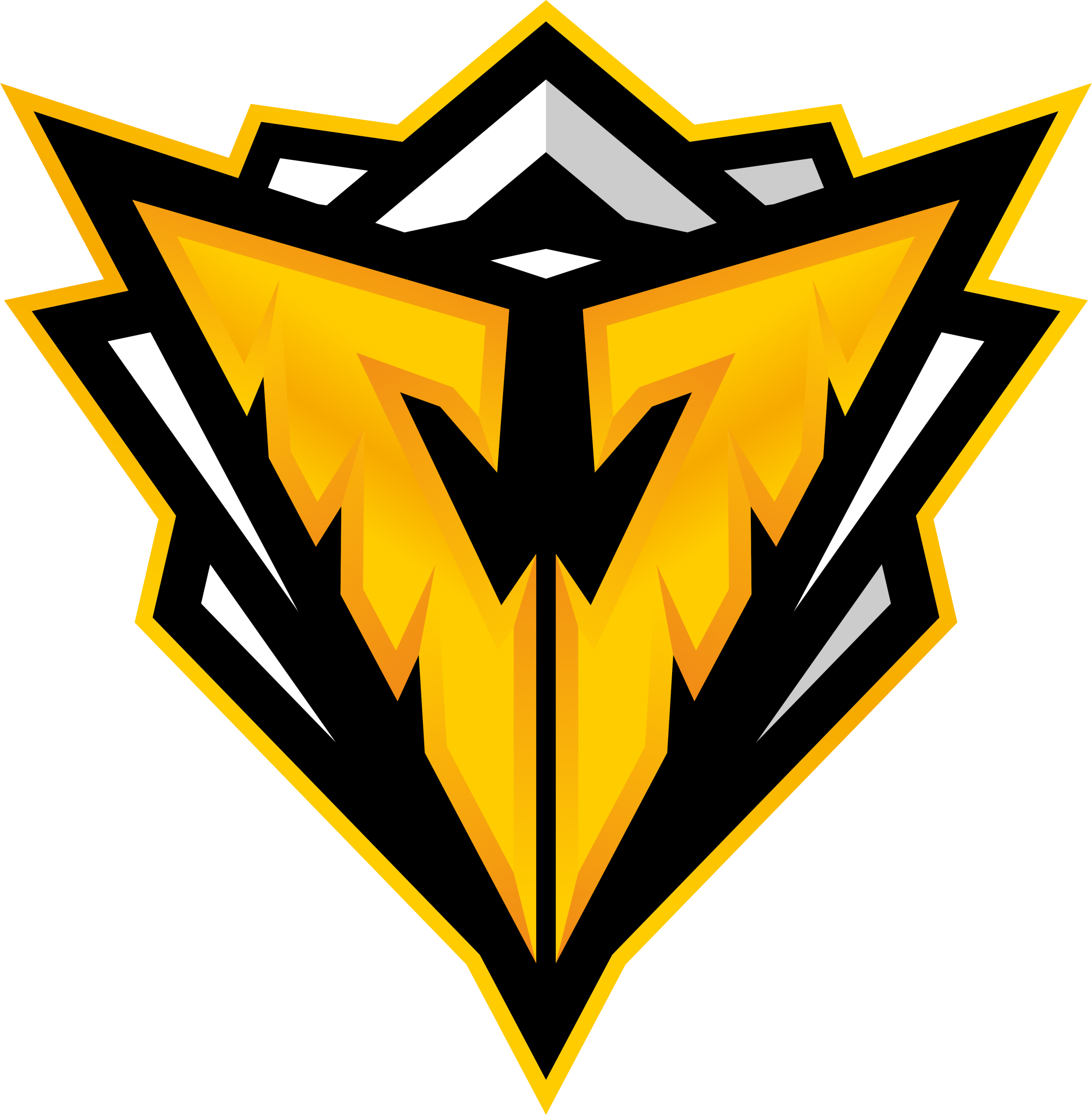 Vasta Gaming logo yellow